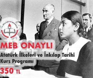 Atatürk İlkeleri ve İnkılap Tarihi Kurs Programı