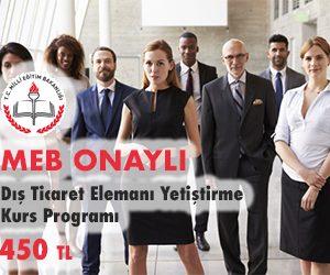 Dış Ticaret Elemanı Yetiştirme Kurs Programı
