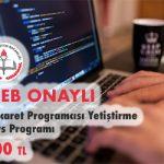 E-Ticaret Programcısı Yetiştirme Kurs Programı 1