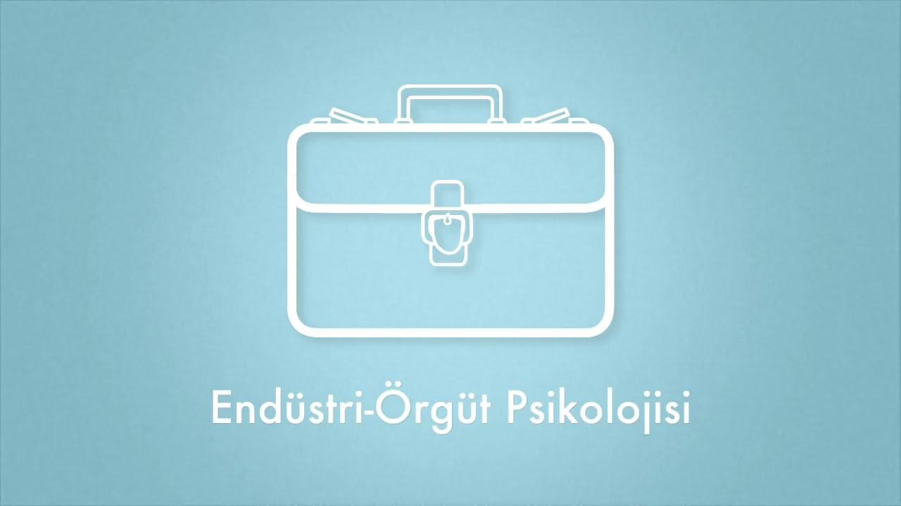 Endüstri ve Örgüt Psikolojisi Yüksek Lisans Programı 1