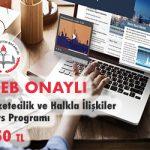 Gazetecilik ve Halkla İlişkiler Kurs Programı 1