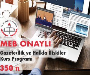 Gazetecilik ve Halkla İlişkiler Kurs Programı