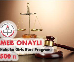 Hukuka Giriş Kurs Programı