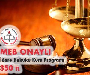 İdare Hukuku Kurs Programı