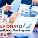 İktisadi Analiz Kurs Programı 1