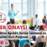 İngilizce Ağırlıklı Turizm İşletmeni ve Otel Yönetimi Kurs Programı 1