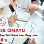 Maliye Politikası Kurs Programı 1