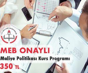 Maliye Politikası Kurs Programı