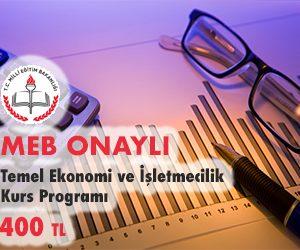 Temel Ekonomi ve İşletmecilik Kurs Programı