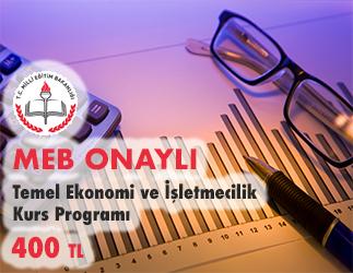 Temel Ekonomi ve İşletmecilik Kurs Programı 1