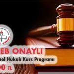 Temel Hukuk Kurs Programı 1