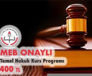 Temel Hukuk Kurs Programı