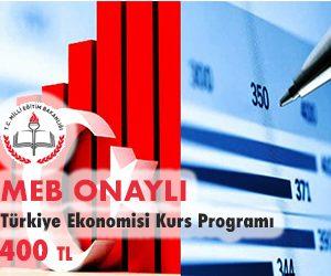 Türkiye Ekonomisi Kurs Programı