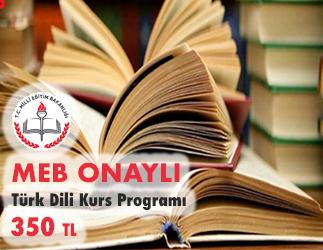 Türk Dili Kurs Programı 1