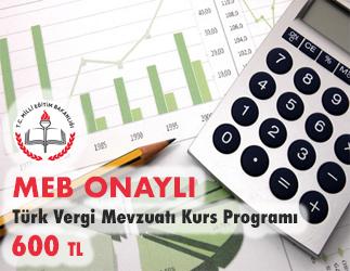 Türk Vergi Mevzuatı Kurs Programı 1