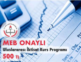 Uluslararası İktisat Kurs Programı 1