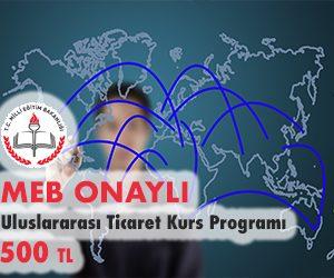 Uluslararası Ticaret Kurs Programı