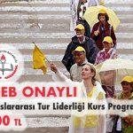 Uluslararası Tur Liderliği Kurs Programı 1